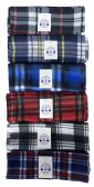 36 of Yacht & Smith Plaid Color Warm Winter Fleece Scarves