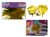 144 of 8 Pc Party Balloon Set- Gold Only