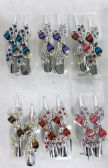 48 of Metal Hair Clamp Rhinestone Bow Design