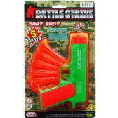 "48 of 6.5"" TOY GUN WITH SOFT DARTS ON BLISTER CARD"