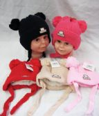 36 of Baby Beanie Hat With Fur Lining & Pompom