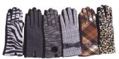72 of Women's Assorted Design Winter Gloves
