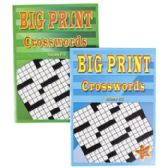 24 of Crossword Puzzles Big Print 2 Assorted In Pdq