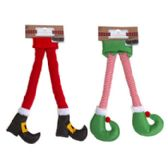 24 of Car Door Elf Or Santa Felt Leg Decor
