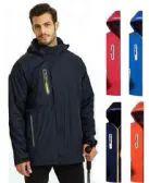 36 of Men's Waterproof Rain Ski Jacket With Fleece Lining & Hood