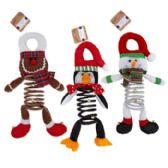 24 of Door Hanger Christmas Character Deluxe Plush\