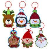 48 of Door Hanger Felt With Jingle Trim Christmas