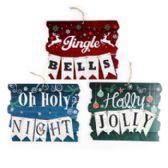 36 of Hanging Christmas Sign Decor