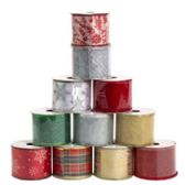 48 of Ribbon Wire Christmas