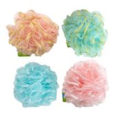 36 of Bath Sponge With Glitter Ribbon 50g 4 Assorted Styles