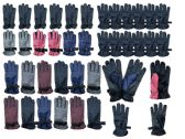 216 of Yacht & Smith Mens Womens Kids Gripper Ski Glove Mix, Assorted Color Fleece Lining