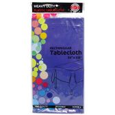 48 of Blue Plastic Tablecover Rectangle