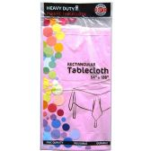 48 of Lavender Plastic Tablecover Rectangle