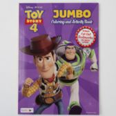 24 of Coloring Book Toy Story 4 Jumbo Bonus Book Marks