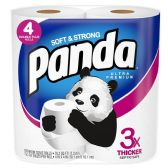 6 of 4 Pack Panda Bath Tissue 176 Sheets 2 Ply Ultra Premium