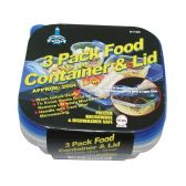 24 of 3 Pack Food Container And Lids