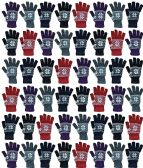 48 of Yacht & Smith Winter Beanies & Gloves For Men & Women, Warm Thermal Cold Resistant Bulk Packs (48 PACK SNOW WOMENS)