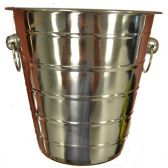 6 of WINE BUCKET STAINLESS STEEL 8 INCH