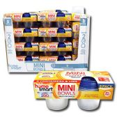 24 of 8 PACK PLASTIC MINI CONTAINERS 4 OUNCE