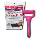 60 of Miracle Roller Pristine Screen Cleaner Tool Pink