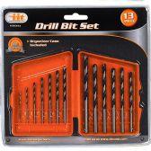 12 of 1 3Piece Drill Bit Set