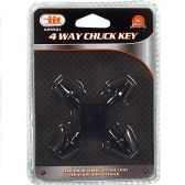 24 of 4 Way Chuck Key