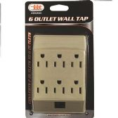30 of 6 Outlet Wall Tap