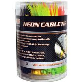 25 of 500 Piece Neon Cable Tie