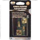 20 of 2 Piece Grounding Adapters