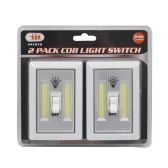 12 of 2 PACK COB LIGHT SWITCH