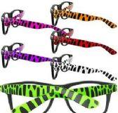 144 of Animal Print Lensless Glasses