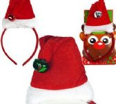 48 of Mini Santa Hat Headbands