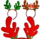 48 of Plush Reindeer Antler Headbands