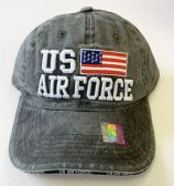 24 of US AIR FORCE BASE BALL CAP (Assorted color)