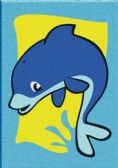 60 of Mini Dolphin Sand Painting Card