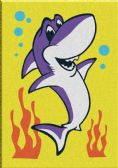 60 of Mini Shark Sand Painting Card