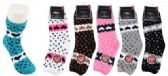 72 of Women's Soft Fuzzy Socks Heart Design Size 9-11