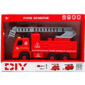 "12 of 8"" B/O FIRE TRUCK W/ SCREW DRIVER IN OPEN BOX, 2 ASSRT STYLE"