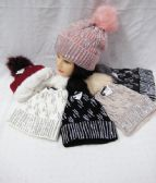 36 of Womens Winter Fashion Beanie With Rhinestones