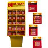 Batteries Kodak Extra Heavy Duty Display 198 Piece
