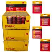 Batteries Kodak Super Heavy Duty 1080 Piece Pallet Display