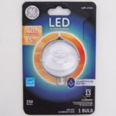 3 of Light Bulb Led Deco Daylight Clear Finish Bent Tip Carded