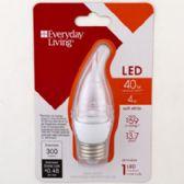 3 of Light Bulb Led Soft White Bent Tip Med Medium Base