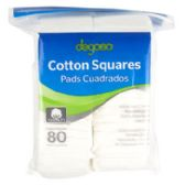 24 of Cotton Squares Resealable Poly Bag