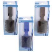48 of Hair Brush Mens Nylon Bristles