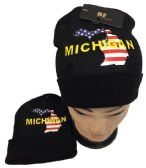 36 of Michigan Winter Beanie Hat