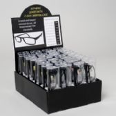 144 of Readers Black With Clear Case