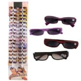 144 of Tinted Readers In Floor Display Assorted Magnifications Plastic Frames No Preprice