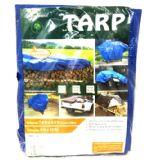 20 of 8X10 BLUE TARP