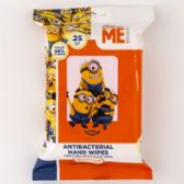 24 of Wipes Minions Anti Bacterial